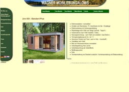 Wagner Mobile Bungalows